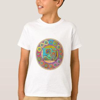 Camiseta Estilo da MANTRA de 108 OM: T-shirt do Hanes