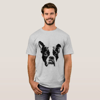 Camiseta Estilo de Boston Terrier da atitude