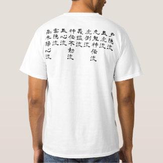 Camiseta Estilo de Bujinkan Ryuuha