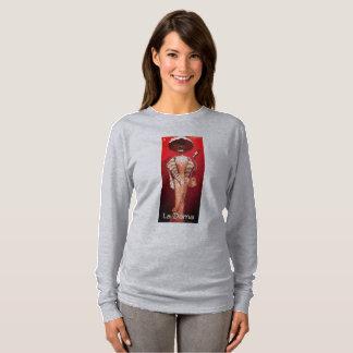 Camiseta Estilo de Loteria do Dama do La