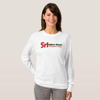 Camiseta estilo de sri-thung-segunda-feira