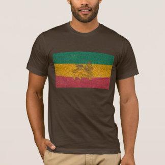 Camiseta Estilo de Van Gogh da bandeira de Rastafari