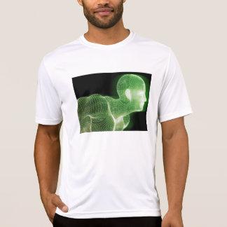 Camiseta Estilo de vida da ciência da tecnologia da