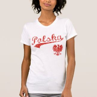 Camiseta Estilo do esporte de Polska Eagle