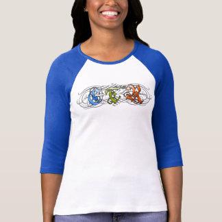 Camiseta Estilo do Flourish do CTR - D1