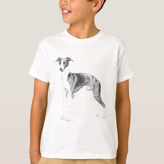 Camiseta Estilo do galgo italiano