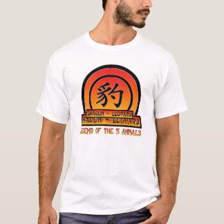 Camiseta estilo do leopardo