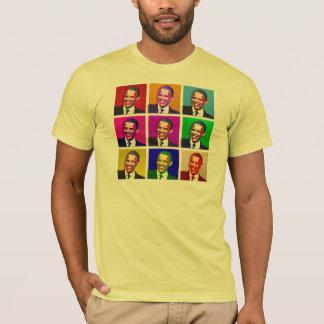 Camiseta Estilo do pop art de Barack Obama