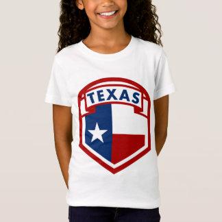 Camiseta Estilo do protetor da bandeira de Texas