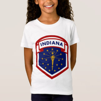 Camiseta Estilo do protetor da bandeira do estado de