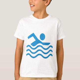 Camiseta Estilo: Espera do t-shirt do Hanes TAGLESS® dos