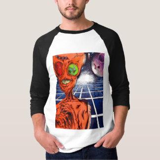 Camiseta Estilo estrangeiro do basebol do homem