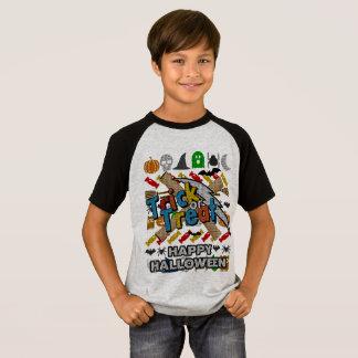 Camiseta Estilo feio o Dia das Bruxas feliz da camisola da