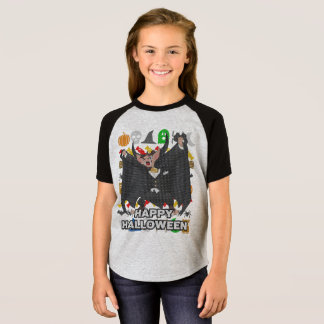 Camiseta Estilo feio o Dia das Bruxas feliz da camisola do