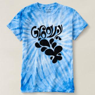 Camiseta Estilo Groovy do Hippie da borboleta