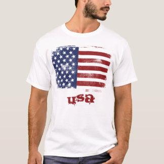 Camiseta Estilo: Homens - o t-shirt das mulheres - bandeira