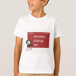 Camiseta Estilo louco do escritor do café