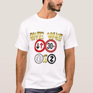 Camiseta Estilo: O t-shirt básico dos homens - citações do