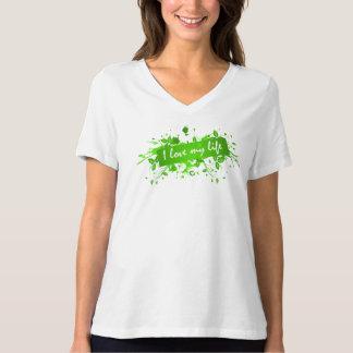 Camiseta Estilo: O t-shirt das mulheres