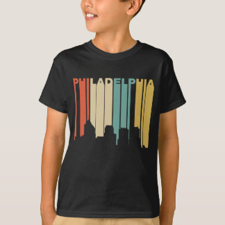 Camiseta Estilo retro Philadelphfia Pensilvânia Skyli dos