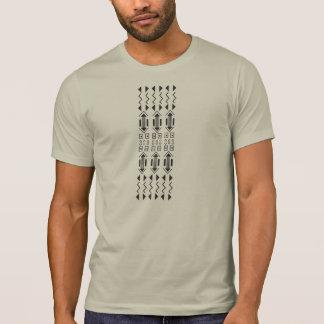 Camiseta Estilo tradicional do Kenyan do teste padrão