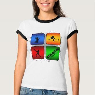 Camiseta Estilo urbano do Badminton surpreendente