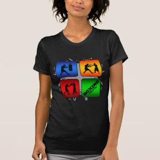 Camiseta Estilo urbano do encaixotamento surpreendente