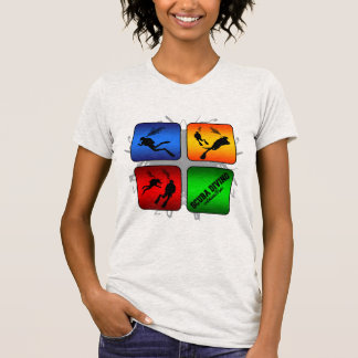 Camiseta Estilo urbano do mergulho autónomo surpreendente