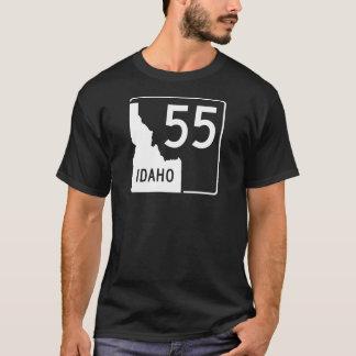 Camiseta Estrada de estado 55 de Idaho