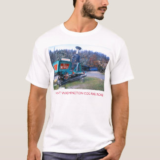 Camiseta Estrada de ferro de roda denteada de Washington da
