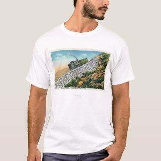 Camiseta Estrada de ferro de roda denteada do Mt