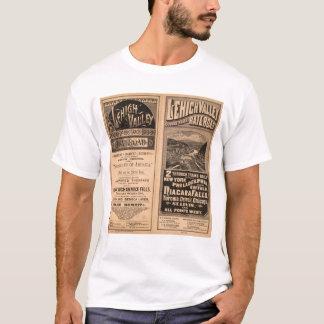 Camiseta Estrada de ferro do vale de Lehigh
