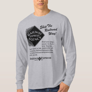 Camiseta Estrada de ferro expressa - envie os t-shirt da