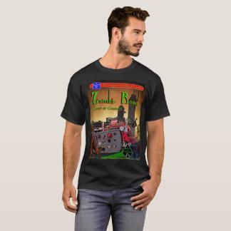 Camiseta Estrada do zombi: Comboio de massacre