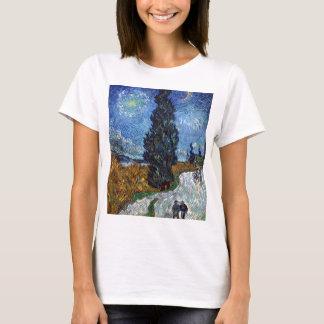 Camiseta Estrada secundária de Vincent van Gogh em Provence