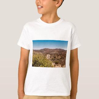 Camiseta Estrada só do deserto da árvore de Joshua