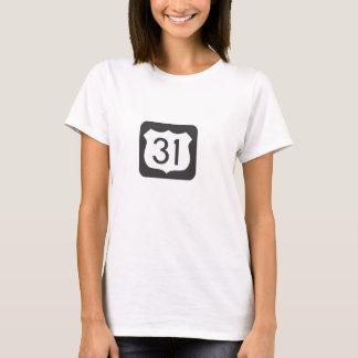 Camiseta Estrada US-31 cénico cabida