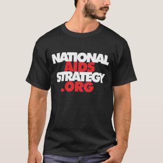 Camiseta Estratégia nacional do AIDS