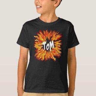 Camiseta Estrela conhecida de Tom no fogo
