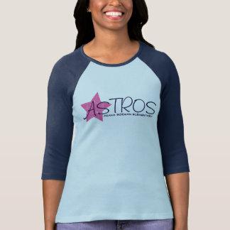 Camiseta Estrela cor-de-rosa elementar de Astros Frank