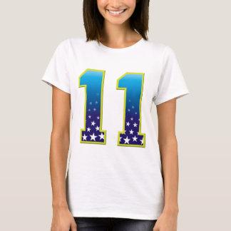 Camiseta Estrela de 11 idades