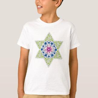 Camiseta Estrela de David verde do vintage - Magen David