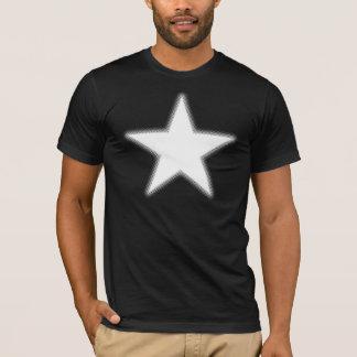 Camiseta Estrela de intervalo mínimo - branco