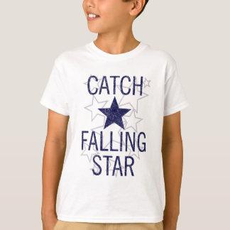 Camiseta estrela de queda da captura