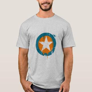 Camiseta estrela do grunge
