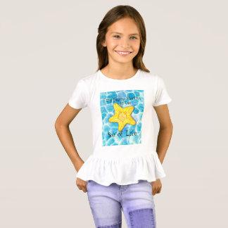 """Camiseta Estrela do mar no oceano """"mar da vida """""""