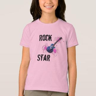 Camiseta estrela do rock