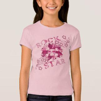 Camiseta Estrela do rock - boneca das meninas (cabida)