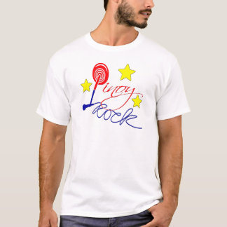 Camiseta Estrela do rock de Pinoy