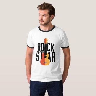 Camiseta Estrela do rock do Ukulele